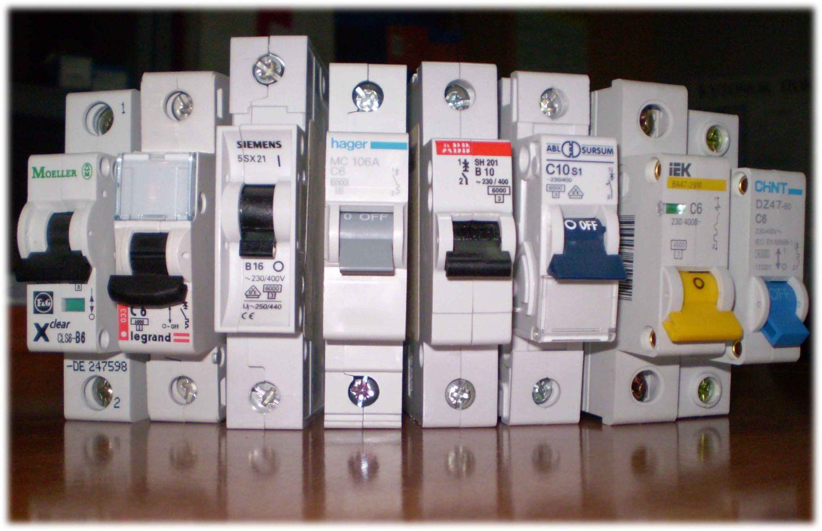 Автоматические выключатели - Холтика